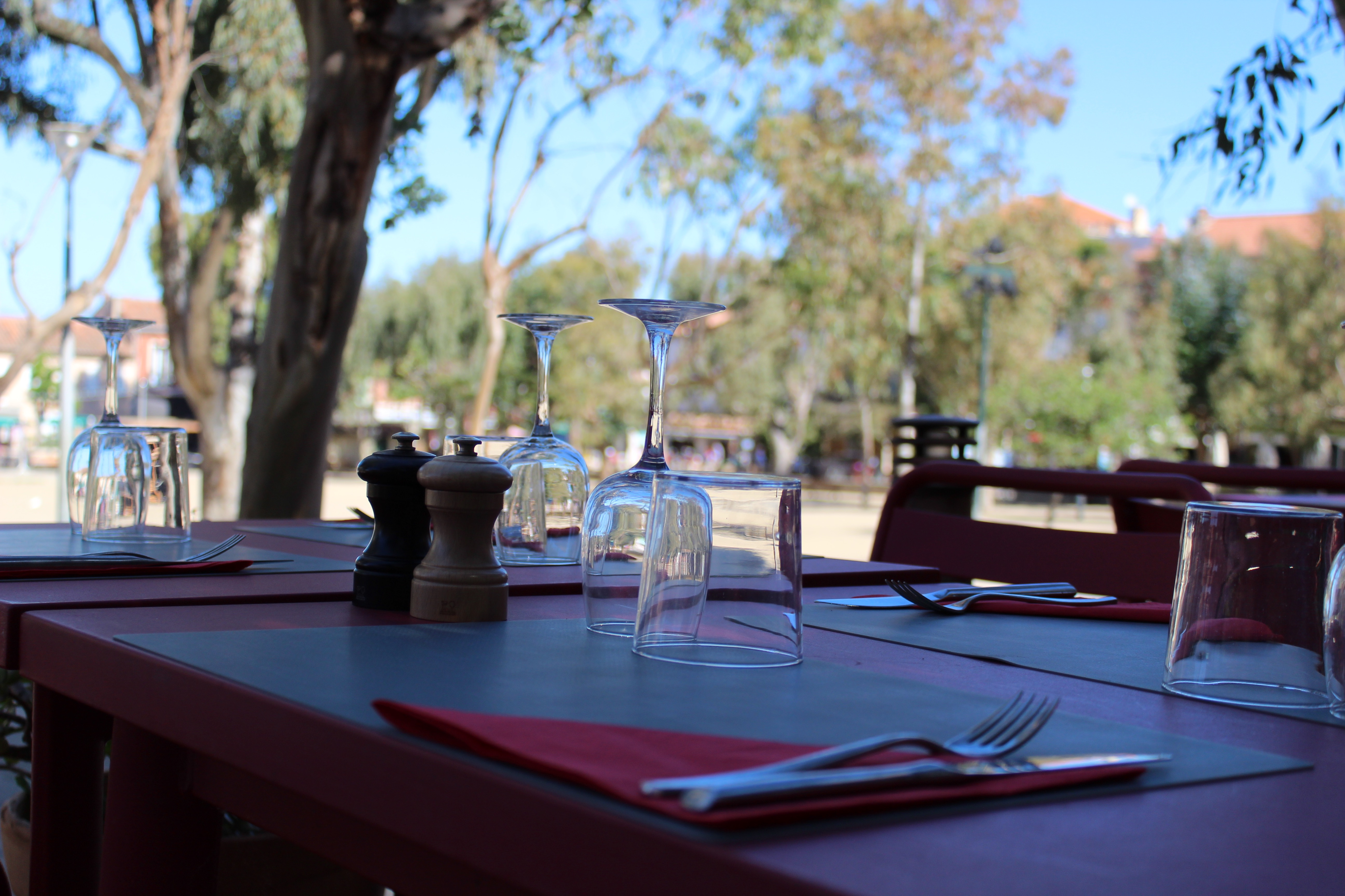 Villa sainte anne porquerolles, restaurant